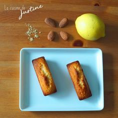 financiers aux amandes, citron et gingembre