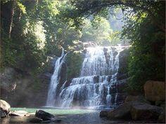 Nauyaca Waterfalls, Costa Rica (a 2.5 hour horseback ride, swimming, and lunch in the rainforest).