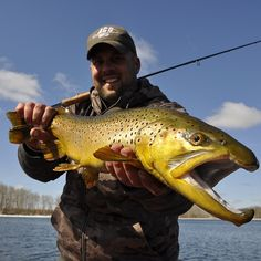 Mega Brown Trout.. Manitoba Fly Fishing. The best still water | Flickr - Photo Sharing!