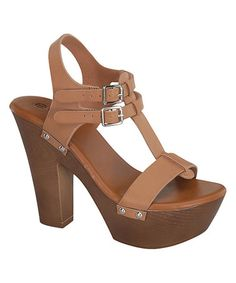 Another great find on #zulily! Taupe Oak Sandal #zulilyfinds