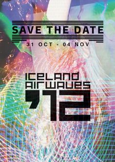 Iceland Airwaves annual music festival  SAVE THE DATE