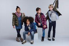 Cool und lässig bei den Jungs, stylisch und chic für die Mädels - das sind die neuen Herbsttrends in Sachen Kinderschuhmode (Marke: Tommy Hilfiger Kids).