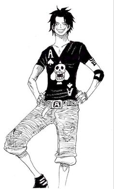 Ace's T-Shirt by FrankyZaraki on deviantART