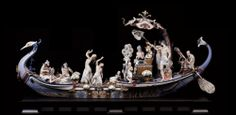 Lladro High Porcelain - Queen of the Nile (Res: 1000×491)