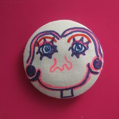 Big Smile Spirited Art, Buttons, Smile, Big, Creative, Artist, Fabric, Projects, Handmade