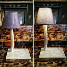 Làmpada fusta / wood lamp