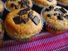 As receitas lá de casa: Queques de aveia com chocolate