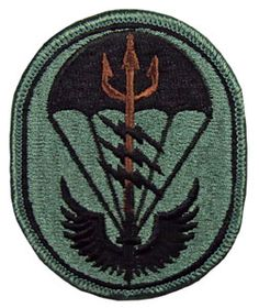 Special Forces Command Patch | Special Operations Command South ACU Patch (Model #:10114)