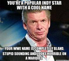 WWE logic