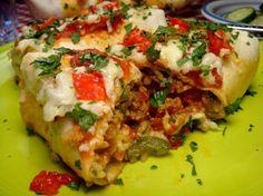Favorite Ground Beef Burrito recipe.