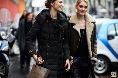 Le 21ème / Anastasija Titko + Hannare Blaauboer | Milan  // #Fashion, #FashionBlog, #FashionBlogger, #Ootd, #OutfitOfTheDay, #StreetStyle, #Style