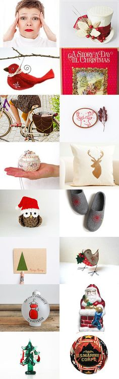 Christmas Stress by Elinor Levin on Etsy--Pinned with TreasuryPin.com