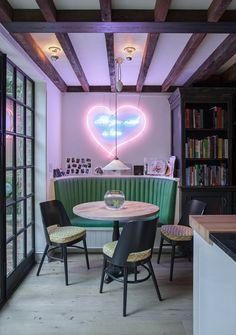 West Village townhouse with Tracy Emin neon