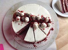 Dort Red Velvet Red Velvet, Croissant, Feta, Cheesecake, Pie, Pudding, Sweets, Cookies, Baking