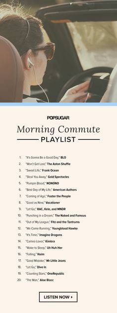 Music to Escape Your Morning Commute