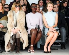 Playtime is over: When the models started down the runway, it was all business, with the trio transfixed by the very understated offerings f...