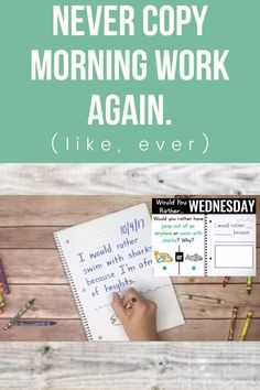 Writing Activities, Writing Skills, Classroom Activities, Preschool Learning, Early Learning, Teaching Tools, Teacher Resources, Classroom Morning Routine, 1st Grade Writing
