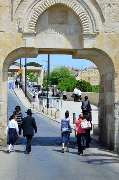 https://flic.kr/p/bZfChN | Dung gate, Jerusalem, D7K_8685 | Dung gate, Jerusalem Israel and Holy Land 2012