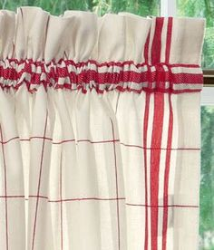 60 Best Red Kitchen Curtains Images Red Kitchen Kitchen