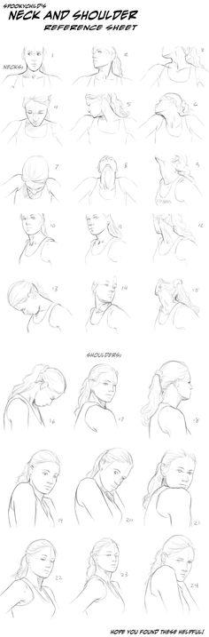 Shoulders and necks