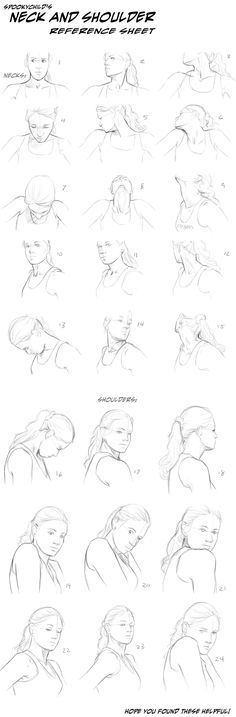 🌿 HOW TO DRAW IT: Head Poses