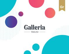 """Check out this @Behance project: """"Galleria Tbilisi - Brand Identity"""" https://www.behance.net/gallery/54842591/Galleria-Tbilisi-Brand-Identity"""