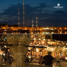 Weekend is coming!!  Do not miss Rodos by night!! Take a walk on the Old City and the port of Rodos!!  Enjoy Rodos island!!  www.rodos-palace.com