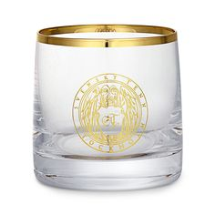 Dricksglas Guldkant Emblem | Svenskt Tenn