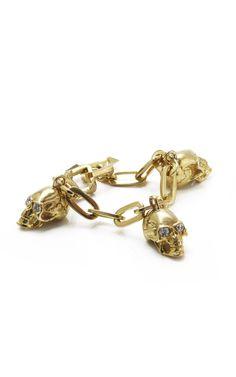 Jennifer Fisher Skull Charm Bracelet.