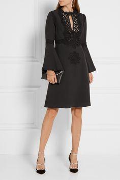 Elie Saab black dress Net-A-Porter