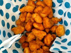 Come fare i  mini nuggets di pollo fatti in casa