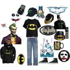 More cool Batman clothes.