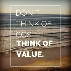 Cheaper isn't better most of the time... #value #fairprice