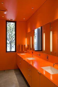 Paint It Orange On Pinterest Orange Walls Orange