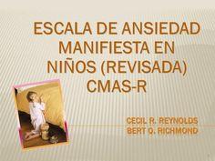 ESCALA DE ANSIEDAD MANIFIESTA EN NIÑOS (REVISADA) CMAS-R 1.