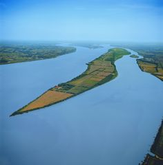 Ile Verte - Photo from helicopter