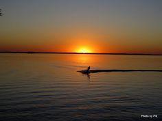 sunset in presidente epitacio