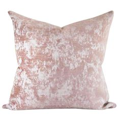 Reggio Velvet, Dusted Peony Pillow – Tonic Living