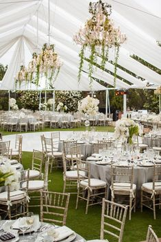 White Reception Tent // Photo: Samuel Lippke Studios and Allan Zepeda // Wedding Planning: Details Details // Tent Wedding, Wedding Receptions, Wedding Bells, Dream Wedding, Wedding Day, Garden Wedding, Wedding White, Wedding Photos, Tent Reception