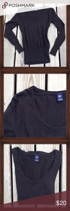 Gap Black Sweater This Gap sweater is in great condition. Perfectly casual it can be dressed up or down. Interior tags have been removed. GAP Sweaters Crew & Scoop Necks