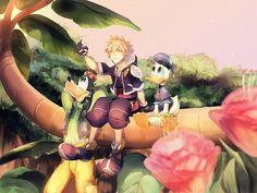 Pixiv Id 4001607, SQUARE ENIX, Disney, Kingdom Hearts II, Kingdom Hearts, Goofy