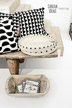 Baskets by Design Afrika - ilala palm trays | Styled for Belgian concept store Couleur Locale | www.designafrika.co.za | Photo - Paulina Arcklin