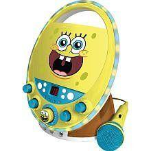 Karaoke System 66262 Spongebob Disco Lights CDG Karaoke, Yellow by Karaoke System. $58.98. Save 55%!