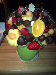 Delicious gift from Edible Arrangements....#JuicyFruit#