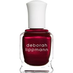 Deborah Lippmann Women's Nail Polish ($24) ❤ liked on Polyvore featuring beauty products, nail care, nail polish, nails, beauty, makeup, esmaltes, red, deborah lippmann and deborah lippmann nail polish
