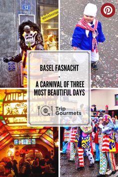"""""""Die drey scheenschte Dääg"""" (""""the three most beautiful days""""), is the pet name that the people of Basel give to their most beloved tradition, the Basel Fasnacht. This most famous of the Swiss Fasnachts (carnivals) takes place every year in the week after Ash Wednesday and goes on for exactly three days."""