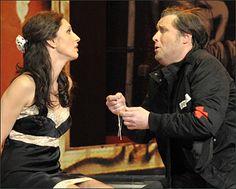 Oper Carmen an der Komischen Oper Berlin mit Timothy Richards und Stella Doufexis