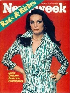 NEWSWEEK magazine - March 22, 1978 edition - fashion designer Dianne Von Furstenberg