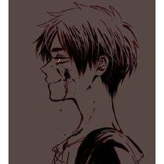 Attack On Titan Eren, Attack On Titan Fanart, Levi X Eren, Levi Ackerman, Yandere Face, Yandere Boy, Ereri, Fanarts Anime, Manga Anime