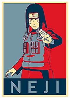 Instabuy Poster Naruto Propaganda Neji - A3 (42x30 cm)